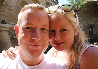 Mark Kwebeman en Mandy van Elp